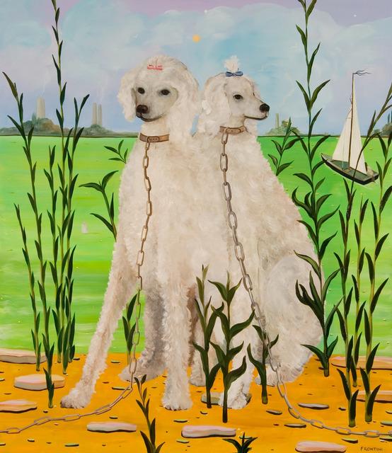 , 'Breeding Pair (White Poodles),' 2010, Richard Levy Gallery