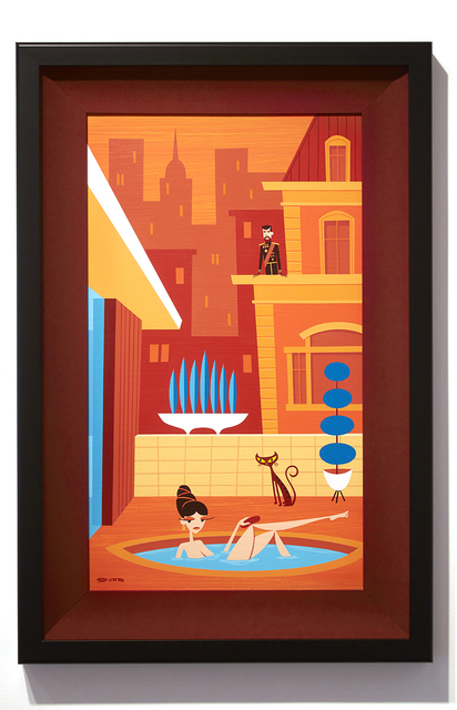 , 'She Bath,' 2015, Jonathan LeVine Projects