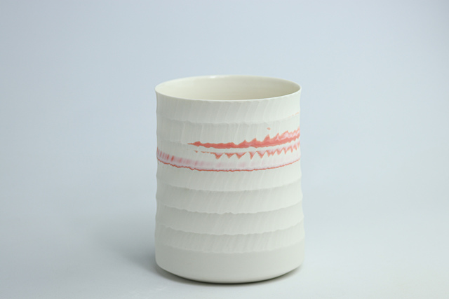 Matt Cronshaw, 'Pink Flash Lantern   By Matt Cronshaw', 2021, Design/Decorative Art, Porcelain, THROWN