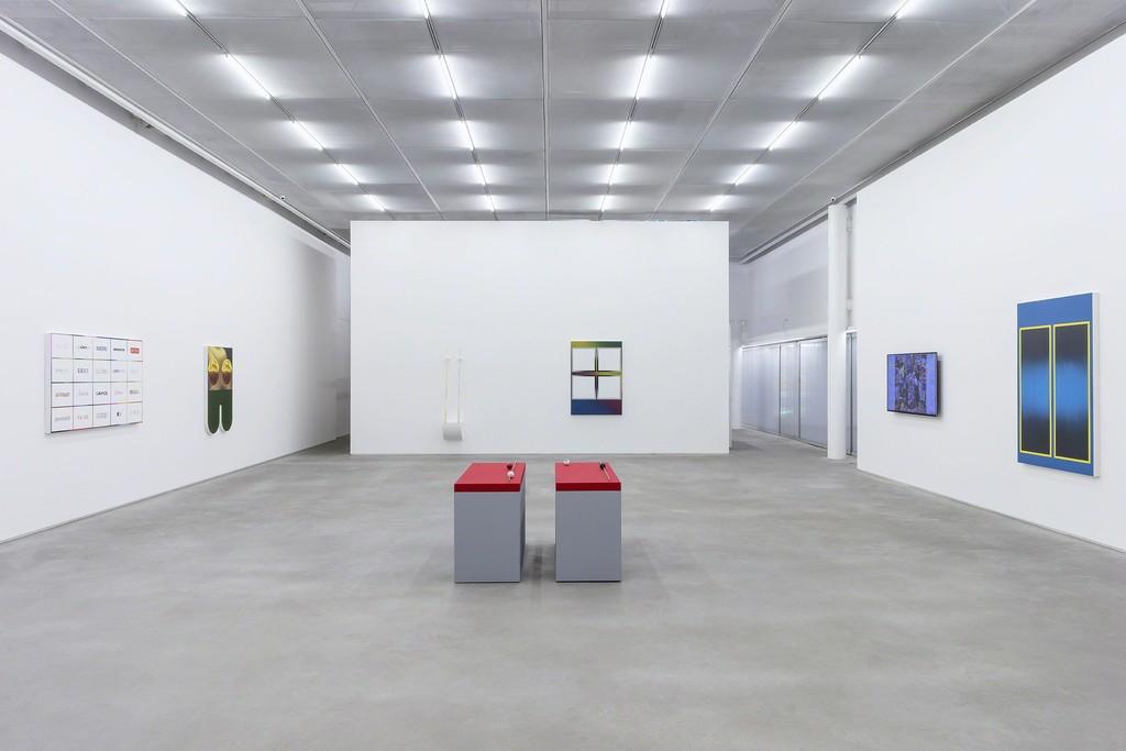 Tony Camargo . Num Logo Lugar, 2019 . Casa Triângulo, São Paulo, Brazil . exhibition view . photo: Filipe Berndt