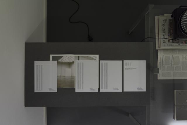 , 'Asimilar la temperatura exterior.,' 2011, García Galeria