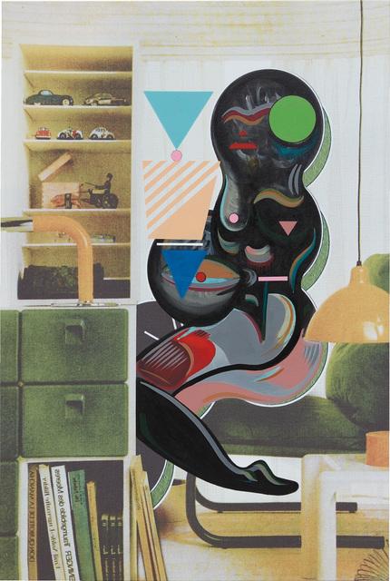 Ad Minoliti, 'Queer Deco Intervention', 2014, Phillips