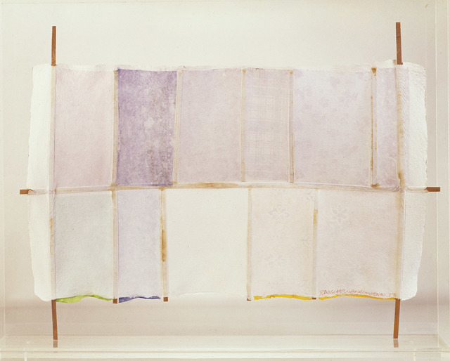 Robert Rauschenberg, 'Hard Eight', 1975, Gemini G.E.L.