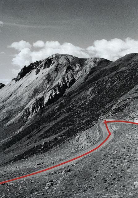 , 'The Line, Passo del Livigno 01,' 2013, Galerie Jordanow