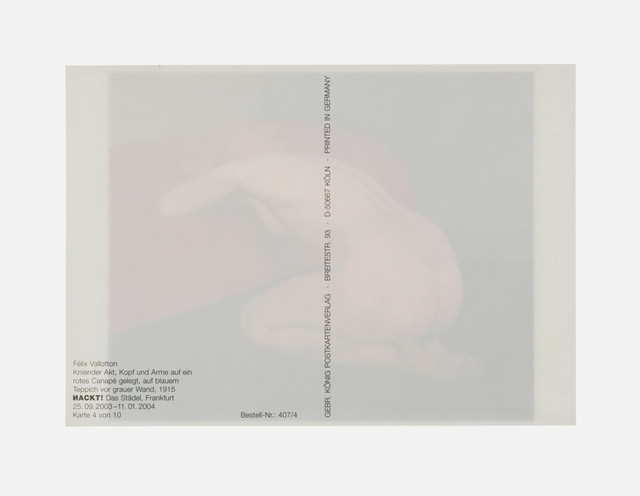 Claudia Angelmaier, 'Knieender Akt', 2008, Galerie Kleindienst