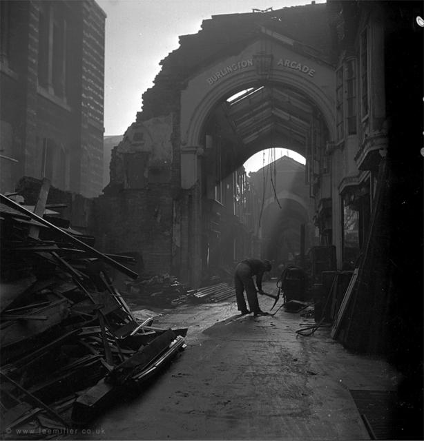 , 'Burlington Arcade, London, England,' 1940, Lee Miller Archives
