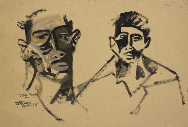 , 'Dos Rostros,' 1956, Galería Nudo