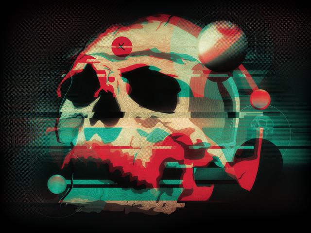 , 'Skull,' 2016, Bitfactory Gallery