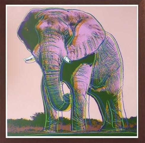 Andy Warhol, 'African Elephant', 1983, Print, Screenprint, Robin Rile Fine Art