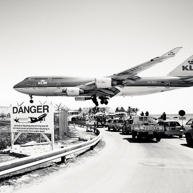 Josef Hoflehner, 'Jet Airliner #29, St. Maarten, KLM Dutch Boeing 747-400', 2011, Werkhallen // Obermann // Burkhard