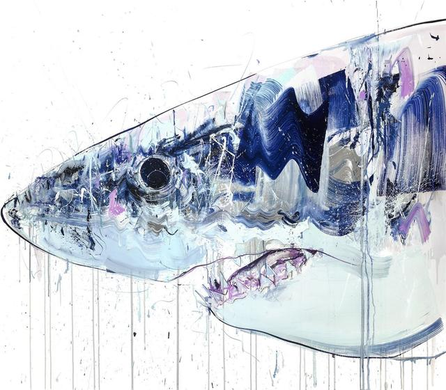 Dave White, 'Great White (Original)', 2019, Painting, Oil on linen, Hang-Up Gallery