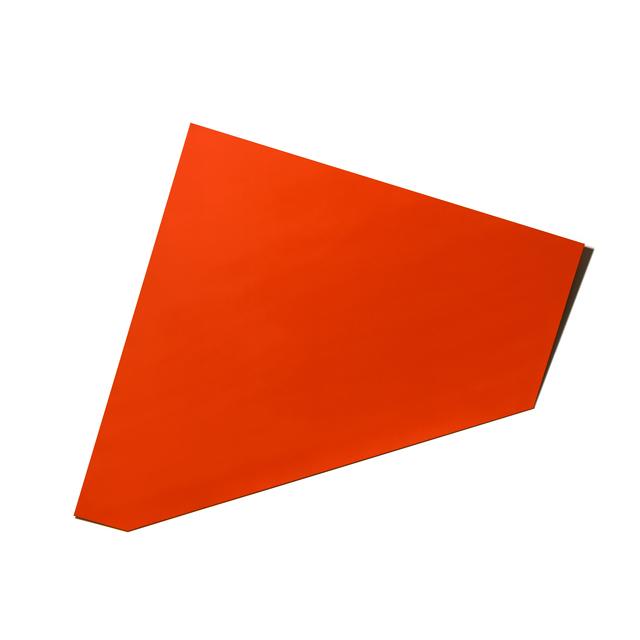 , 'XL Folded Flat Light Red 01,' 2018, Galerie Nikolaus Ruzicska