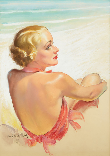 Bradshaw Crandell, 'Bathing Beauty (Carole Lombard)', ca. 1930, The Illustrated Gallery