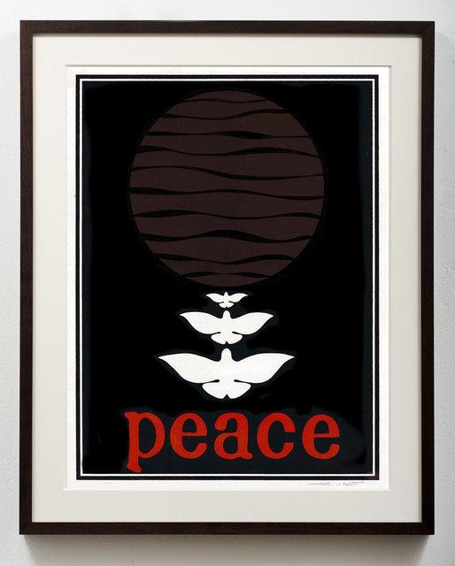 Thomas W. Benton, 'Peace', 1968, Gonzo Gallery
