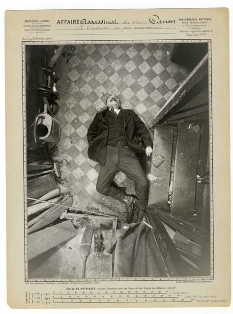 , 'Murder of M. Canon, boulevard de Clichy, 9 December,' 1914, Nederlands Fotomuseum