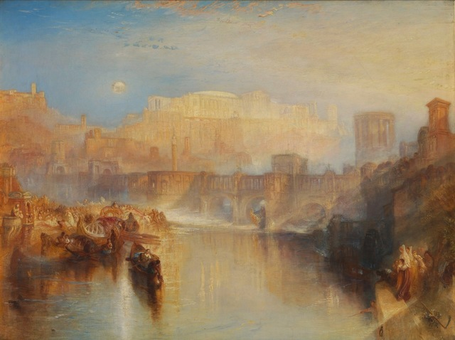 , 'Ancient Rome; Agrippina Landing with the Ashes of Germanicus,' 1839, de Young Museum
