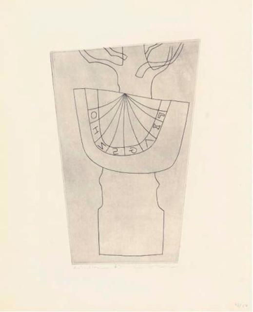 , 'Turkish sundial and tree,' 1967, Bernard Jacobson Gallery