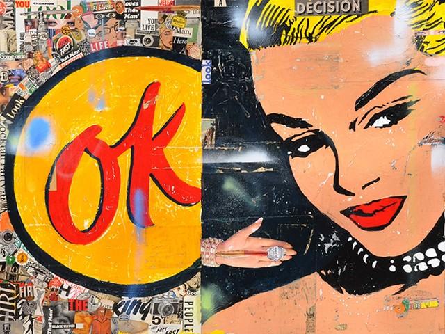 , 'OK,' 2017, Caldwell Snyder Gallery