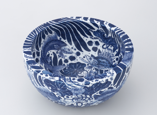 , 'Bowl with Fish and Aquatic Plants Motif,' 2016, Ippodo Gallery