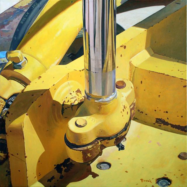 , 'Hydraulic Shaft,' 2018, {9} The Gallery