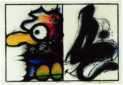 , 'Grün und Blau (Wahnhall I),' 1967, Mario Mauroner Contemporary Art Salzburg-Vienna