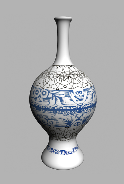 Yi Zhou, 'Abstract Greek Vase', 2013, Pearl Lam Galleries