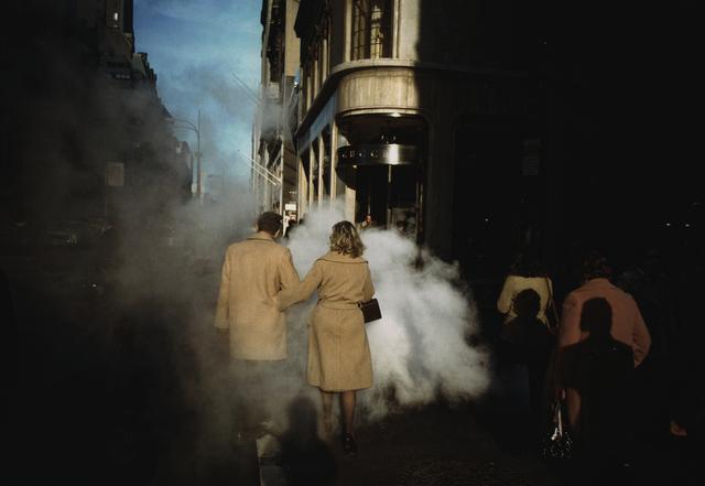 "Joel Meyerowitz, '""Camel Coats"", New York City', 1975, Howard Greenberg Gallery"