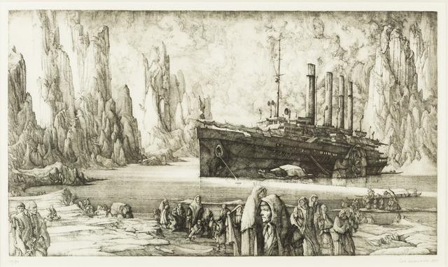 , 'Le Débarquement,' 1975, Childs Gallery
