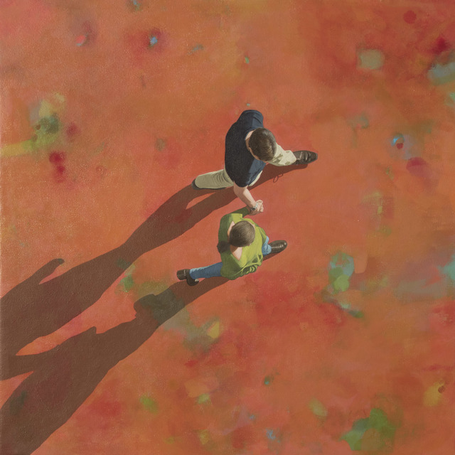 , 'Hand in Hand,' 2019, Caldwell Snyder Gallery