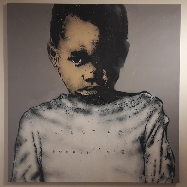 , 'C'est La Fucking Vie (Boy),' 2014, MUCA