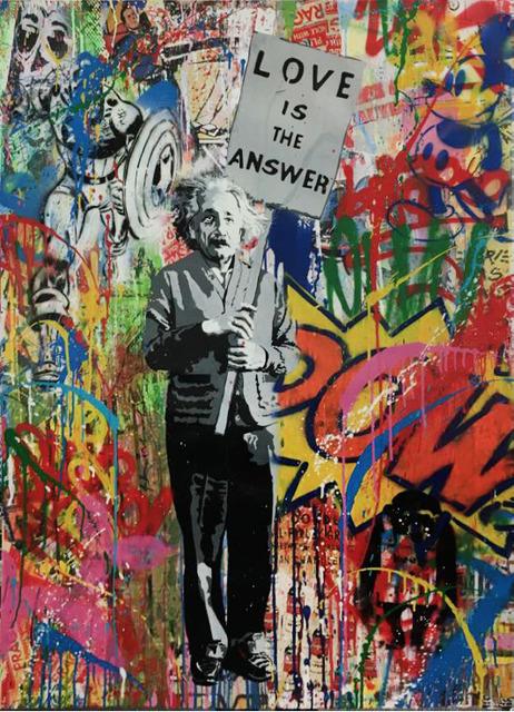 , 'Einstein,' 2016, Marion Gallery