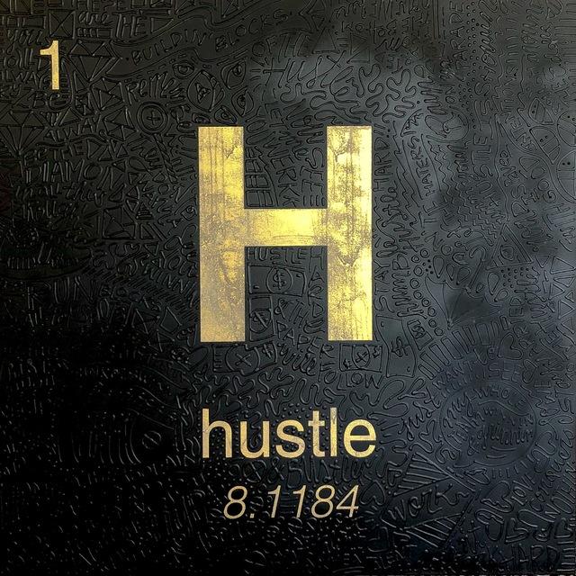 , 'Periodic Table of Relevance Series: HUSTLE,' 2018, Contessa Gallery