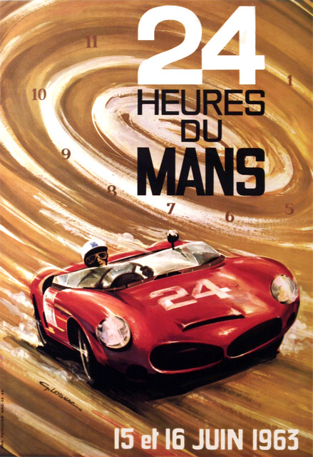 , '24 Hours of Le Mans - June 1963,' 1963, Omnibus Gallery