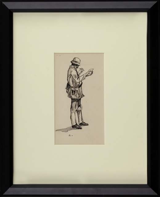 , 'The Bengal Writer,' ca. 1900, Thurston Royce Gallery of Fine Art, LTD.