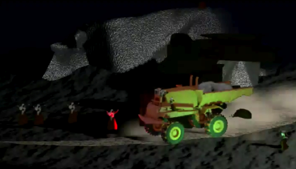 Film still: Julius Hofmann, Mighty young engines 1.3, 2015, 3d-animation video