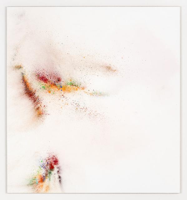Thilo Heinzmann, 'O.T. ', 2019, Painting, Oil, pigment on canvas behind acrylic glass cover, Galería Heinrich Ehrhardt