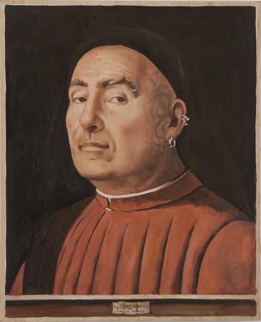 , 'The Nonconformist after Antonello da Messina's Portrait of a Man,' 2013, Francis M. Naumann Fine Art