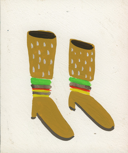 , 'Burger Boots,' 2015, Court Tree Collective