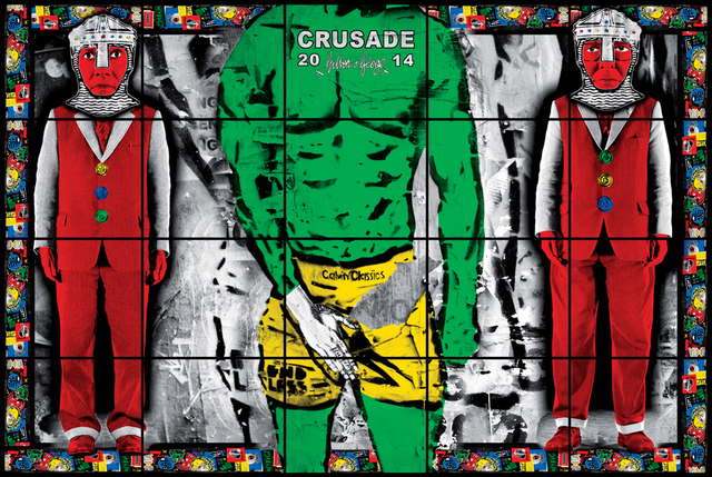 Gilbert and George, 'CRUSADE', 2014, A3 Arndt Art Agency