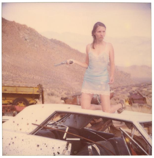 Stefanie Schneider, 'Light Blue Lingerie - however ', 2003, Instantdreams