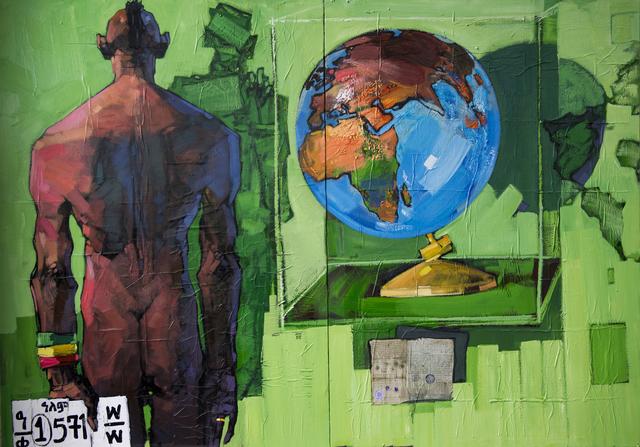 , 'World 6 ,' 2016, Kristin Hjellegjerde Gallery