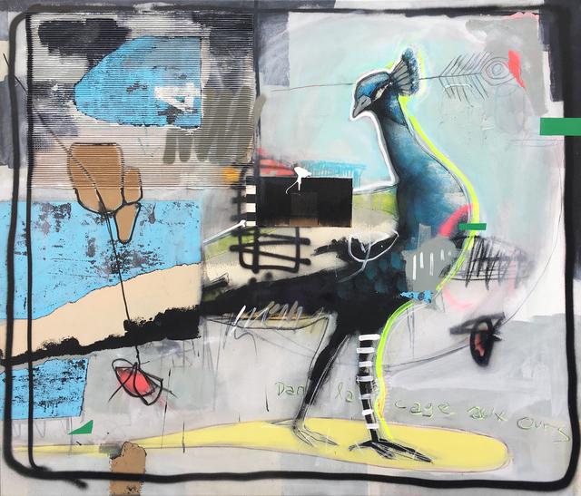 , 'Peacock,' 2017, Galerie LeRoyer