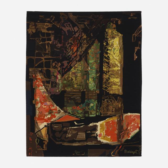Mathieu Matégot, 'Nocturn tapestry', c. 1955, Wright