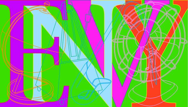 Michael Craig-Martin, 'Envy', 2008, Cristea Roberts Gallery