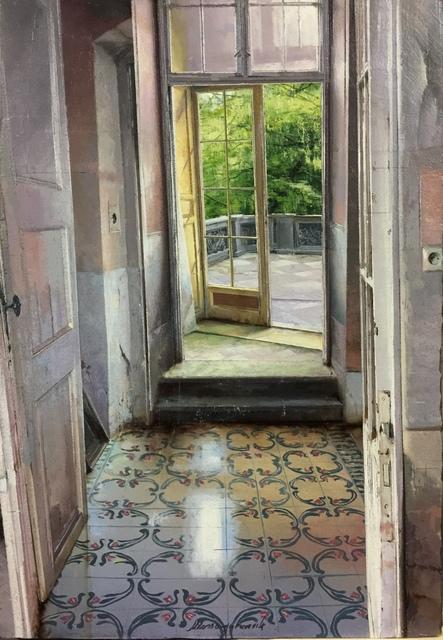 , 'La porta sulla terrazza,' 2017, Pontone Gallery