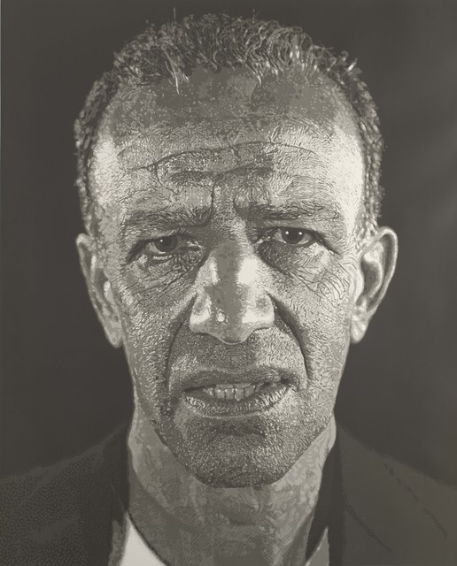 Chuck Close, 'Alex/Reduction Print', 1993, Colby College Museum of Art
