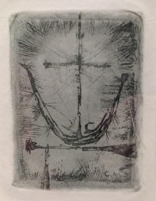 , 'Birth of Christ (Christmas Card) ,' 1954, Pangolin