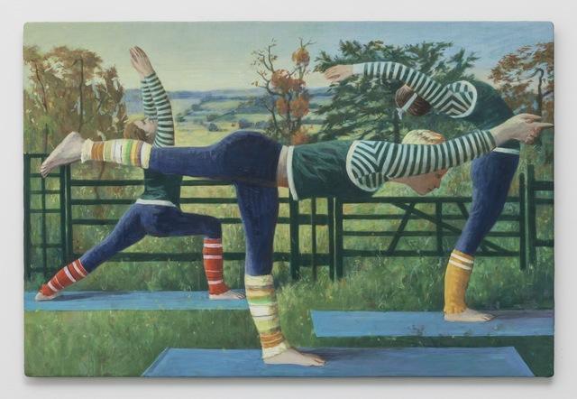 , 'Balancing Sticks,' 2013, BolteLang