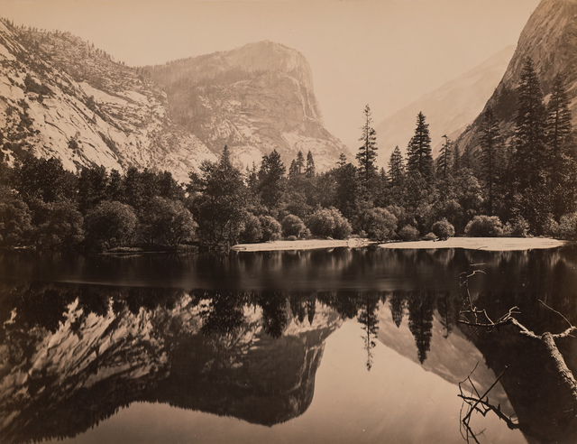 , 'Mirror Lake and reflections, Yosemite Valley,' 1864, Robert Koch Gallery