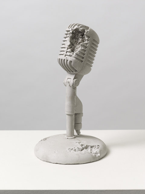 , 'Rose Quartz Eroded Microphone,' 2014, Pippy Houldsworth Gallery